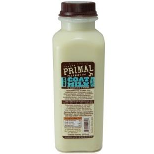 Primal Raw Goat Milk Raw Frozen Dog & Cat Food, 1-qt
