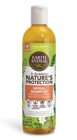 Earth Animal Nature's Protection Flea & Tick Herbal Shampoo, 12-oz