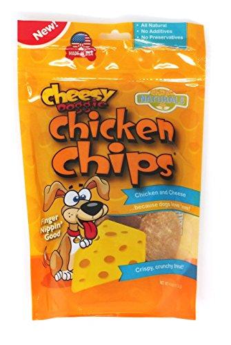 Kennel Master Cheesy Doggie Chicken Chips Dog Treats, 4-oz