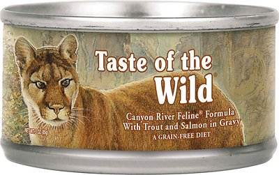 Taste of the Wild Canyon River Grain-Free Canned Cat Food, 3-oz, case of 24