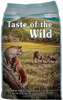 Taste of the Wild Appalachian Valley Small Breed Grain-Free Dry Dog Food, 14-lb