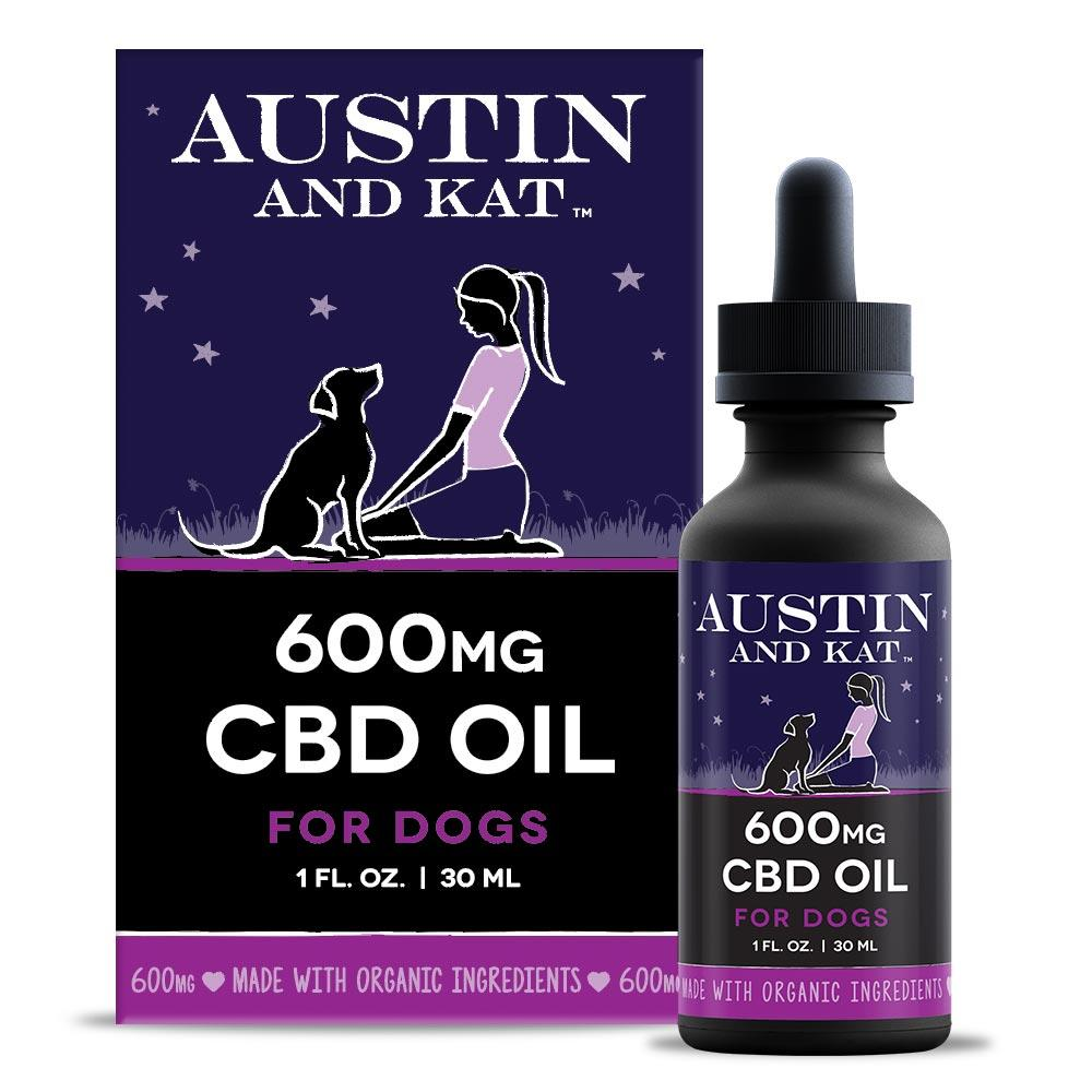 Austin & Kat 600mg Oil for Dogs & Cats, 1-ml