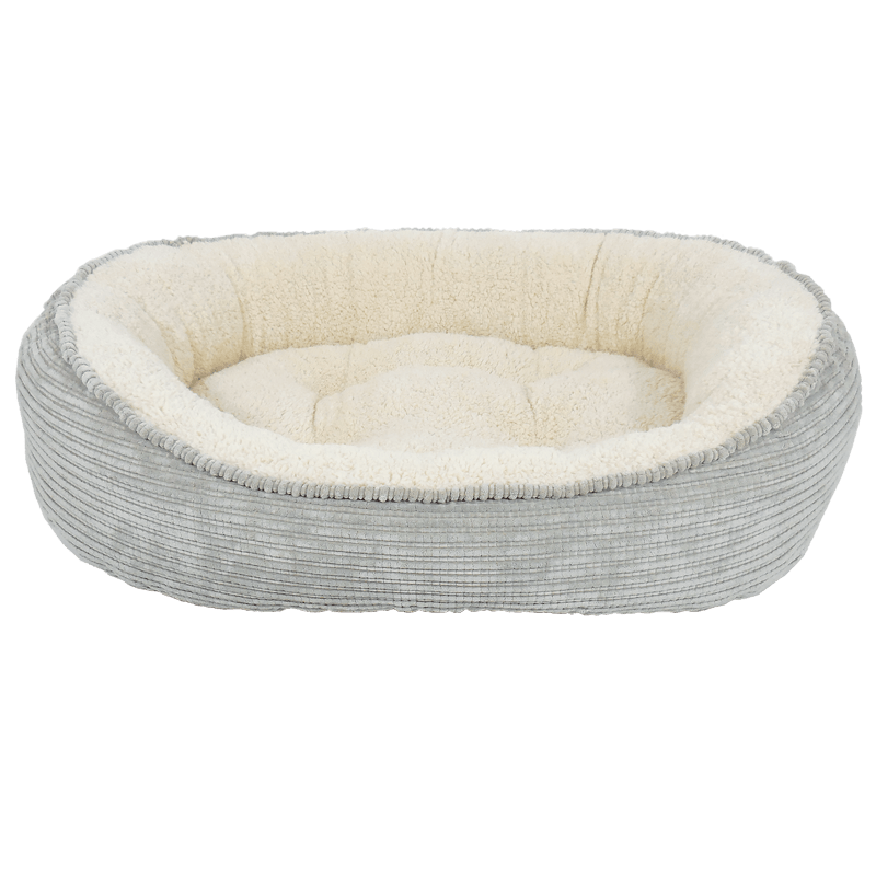Arlee Pet Products Cody Cuddler Sterling Grey Dog Bed