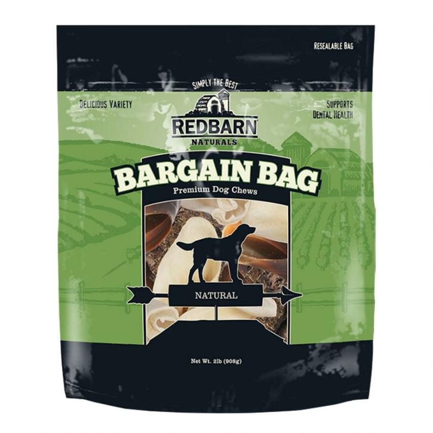 Redbarn Natural Bargain Bag Dog Chews, 2-lb