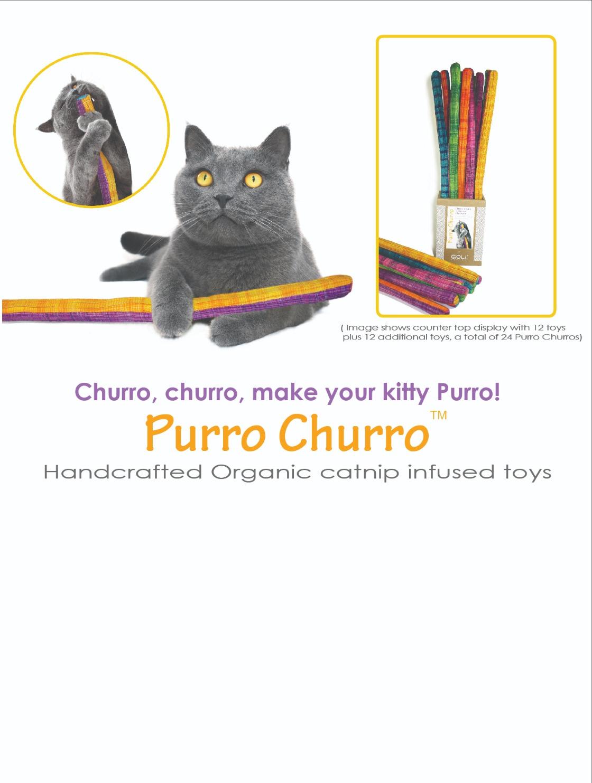Goli Design Purro Churro Cat Toy