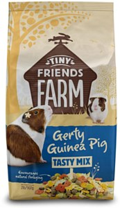 Supreme Petfoods Tiny Friends Farm Gerty Guinea Pig Tasty Mix Food, 2-lb