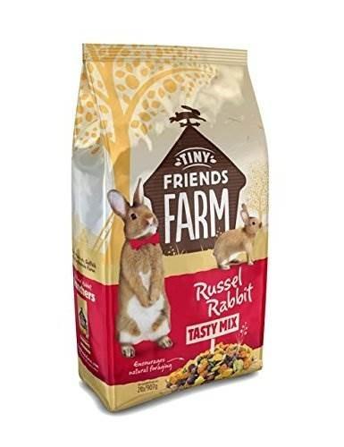 Supreme Petfoods Tiny Friends Farm Russel Rabbit Tasty Mix Food, 2-lb