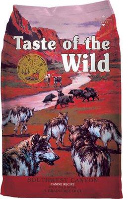 Taste of the Wild Southwest Canyon Grain-Free Dry Dog Food, 5-lb