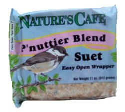 Nature's Café Suet P'nuttier Wild Bird Food