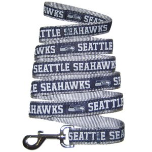 Pets First Seattle Seahawks Ribbon Dog Leash