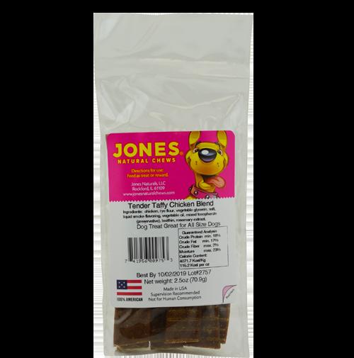 Jones Tender Chicken Taffy Dog Treats