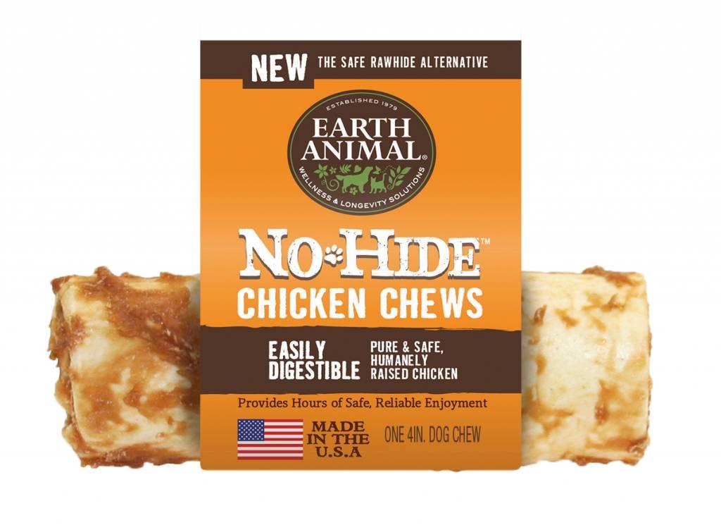 Earth Animal No Hide Chicken Dog Chew, 4-oz