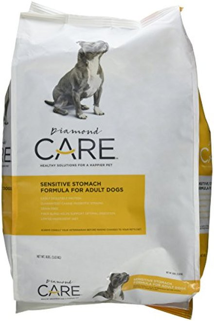Diamond Care Sensitive Stomach Formula Adult Grain-Free Dry Dog Food, 8-lb Size: 8-lb