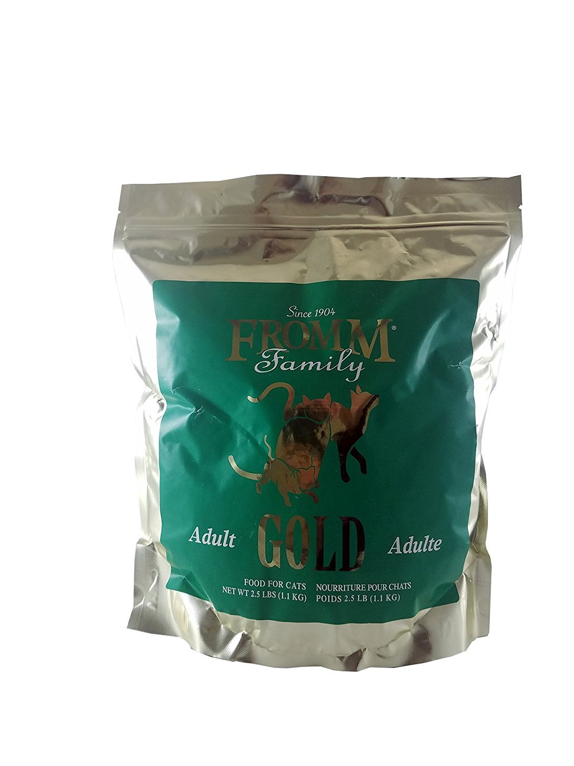 Fromm Gold Adult Dry Cat Food, 2.5-lb, case of 4