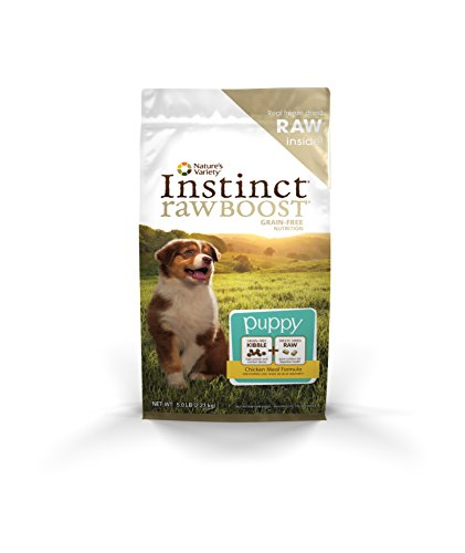 Nature's Variety Instinct Raw Boost Chicken Meal Formula Puppy Dry Dog Food, 5-lb
