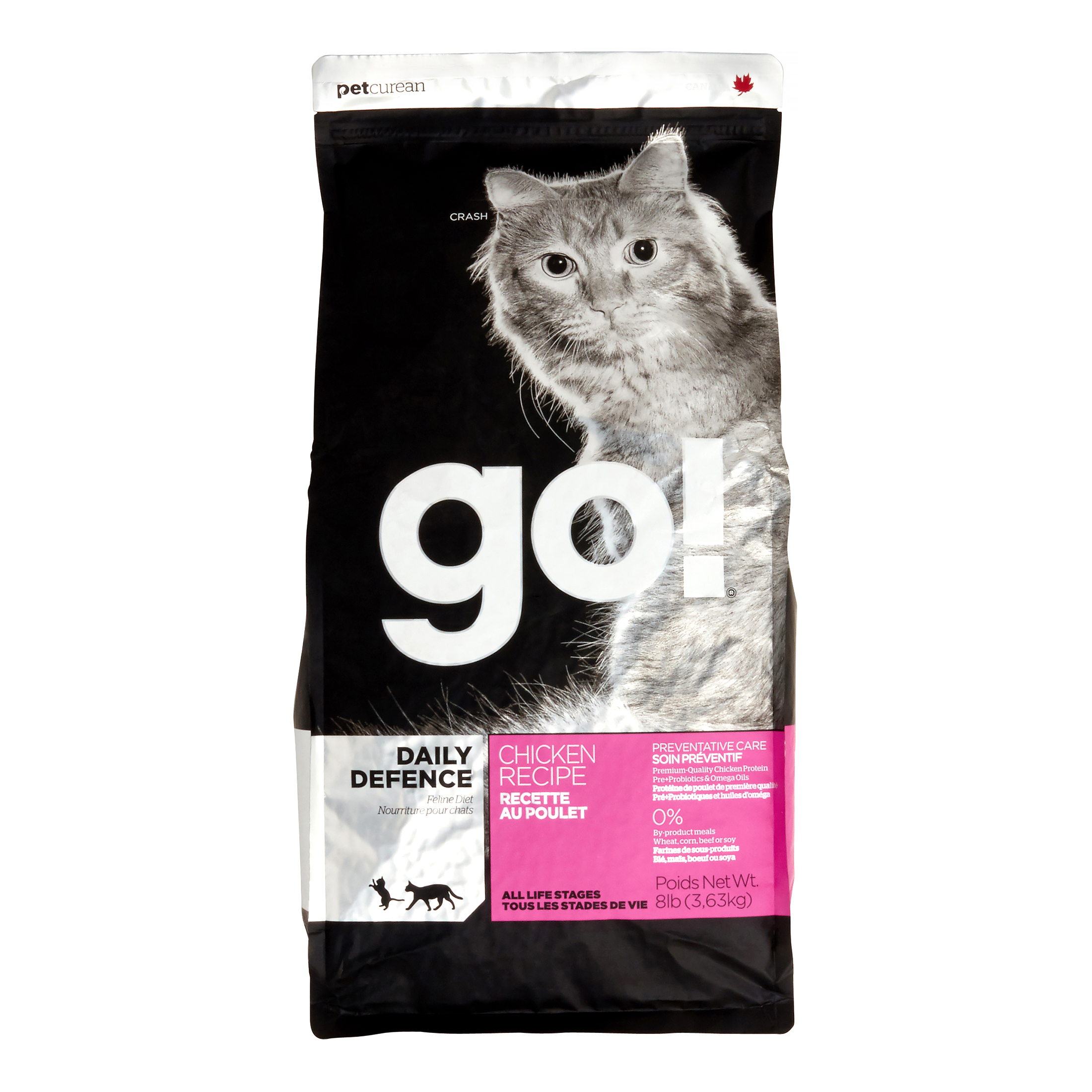 Petcurean Cat Go! Daily Defence Chicken Recipe Dry Cat Food