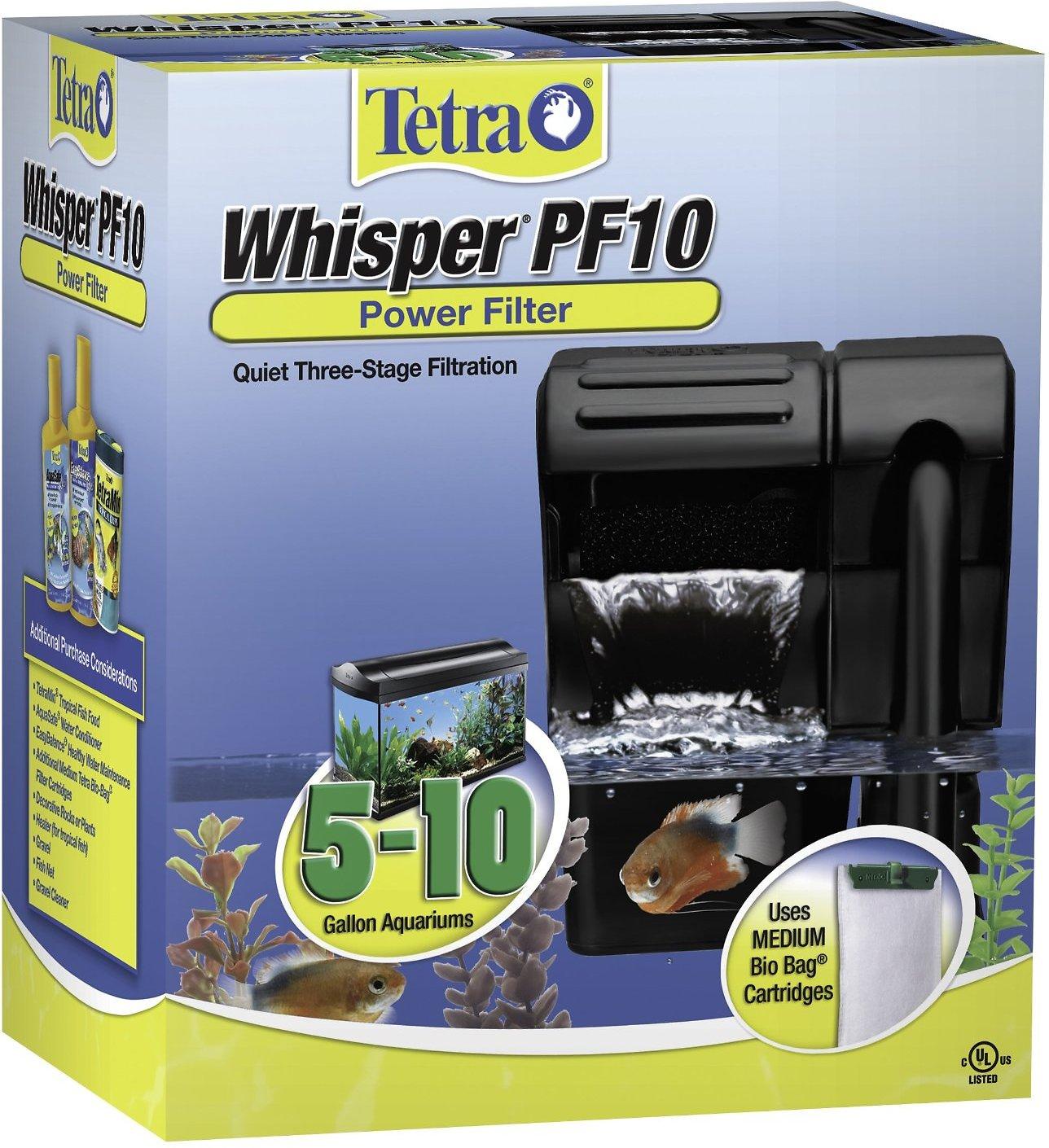 Tetra Whisper Power Filter, 5 - 10 gal