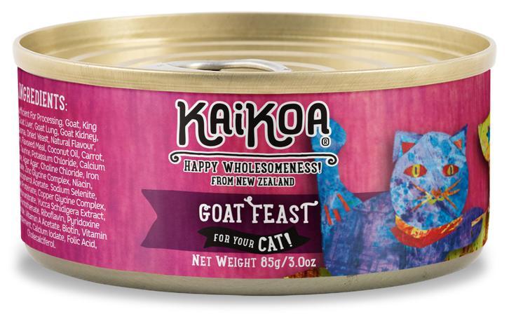 KaiKoa Goat Feast Grain-Free Wet Cat Food