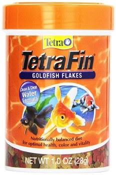 TetraFin Goldfish Flakes Fish Food, 1-oz