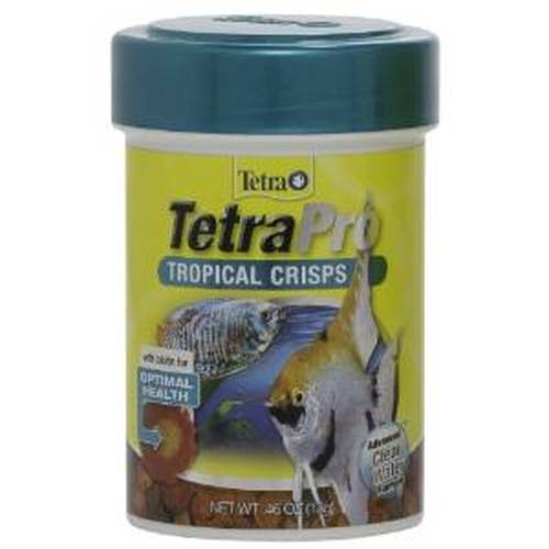 Tetra TetraPro Tropical Crisps Fish Food, .46-oz