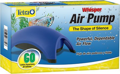 Tetra Whisper Non-UL Air Pump for Aquariums, 60-gallon