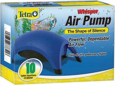Tetra Whisper Non-UL Air Pump for Aquariums, 10-gallon