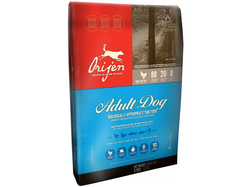 Orijen Adult Dry Dog Food, 15-lb Size: 15-lb