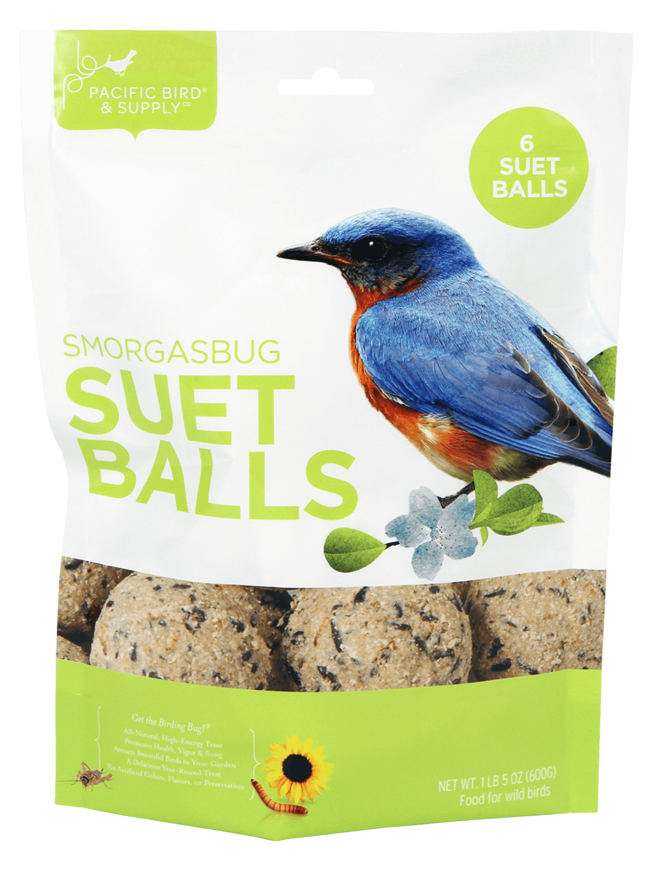 Pacific Bird & Supply Smorgasbug Suet Balls Wild Bird Food