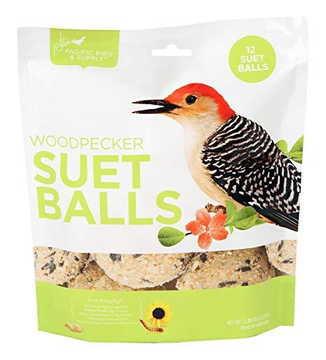 Pacific Bird & Supply Woodpecker Suet Balls Wild Bird Food