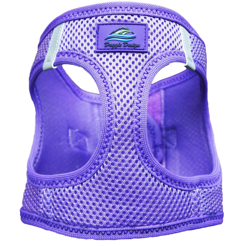 Doggie Design American River Choke-Free Dog Harness Solid, Paisley Purple, XX-Small