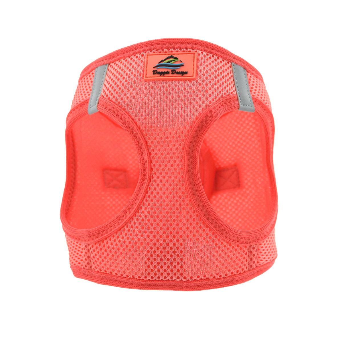 Doggie Design American River Choke-Free Dog Harness Solid, Coral, XX-Large