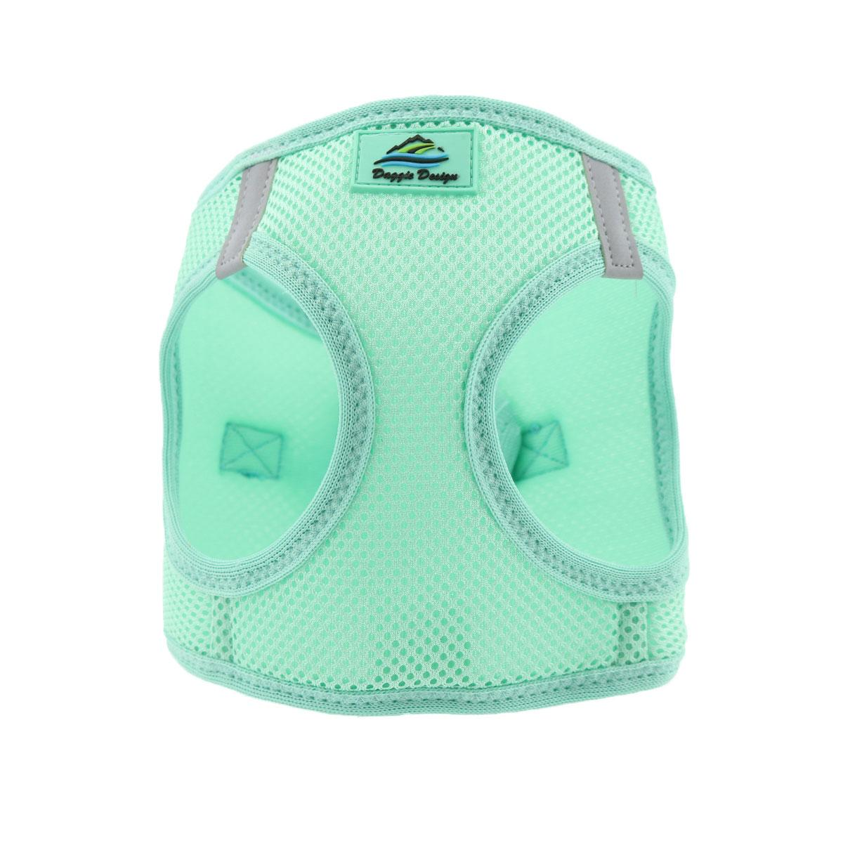 Doggie Design American River Choke-Free Dog Harness Solid, Teal, 3X-Large
