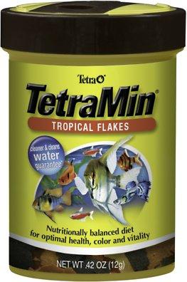 TetraMin Tropical Flakes Fish Food, 0.42-oz jar