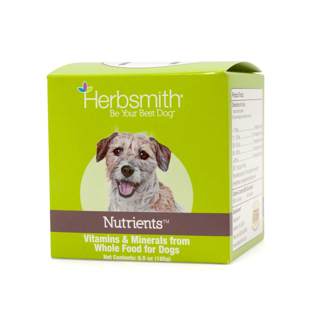 Herbsmith Nutrients Superfood for Superdogs Dog Food Topper, 6.5-oz