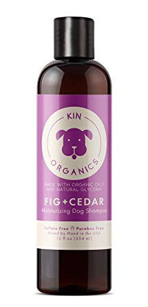 Kin+Kind Kin Organics Fig + Cedar Moisturizing Dog Shampoo, 12-oz