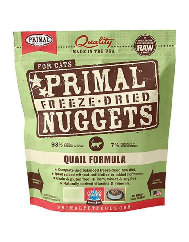 Primal Freeze-Dried Nuggets Quail Formula Cat Food, 5.5 oz