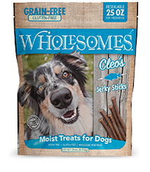 SPORTMiX Wholesomes Cleo's Fish Jerky Strips Dog Treat, 25-oz