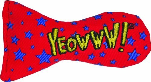 Yeowww! Catnip Stinkies Cat Toy, Star, 12-pk
