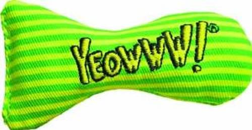 Yeowww! Catnip Stinkies Cat Toy, Stripe, 12-pk
