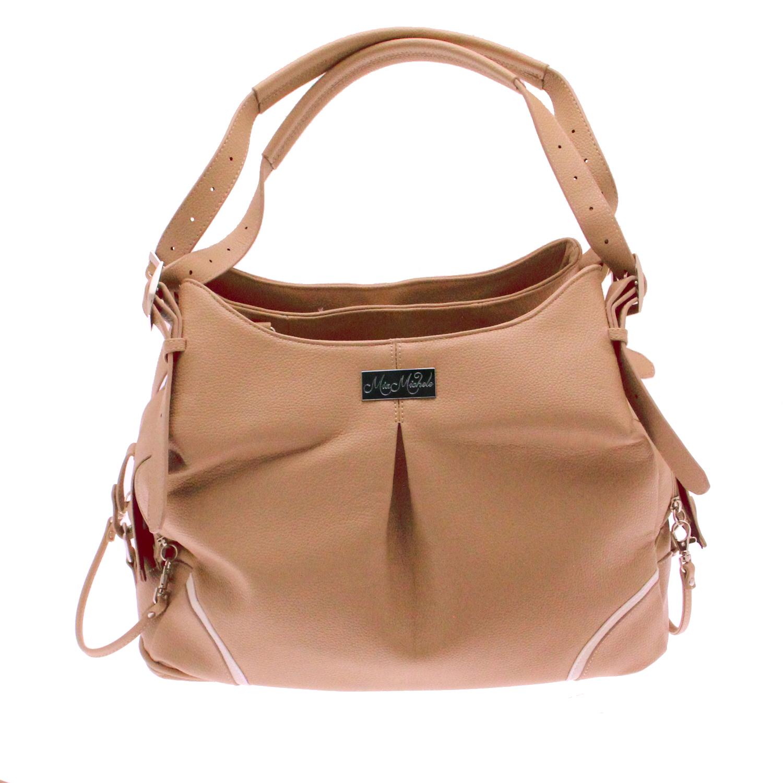 Doggie Design Mia Michele Dog Carry Bag, Madison Mocha Faux Leather