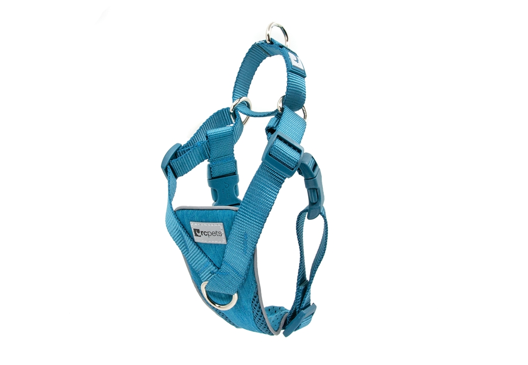 RC Pets Products Tempo No Pull Heather Teal Dog Harness