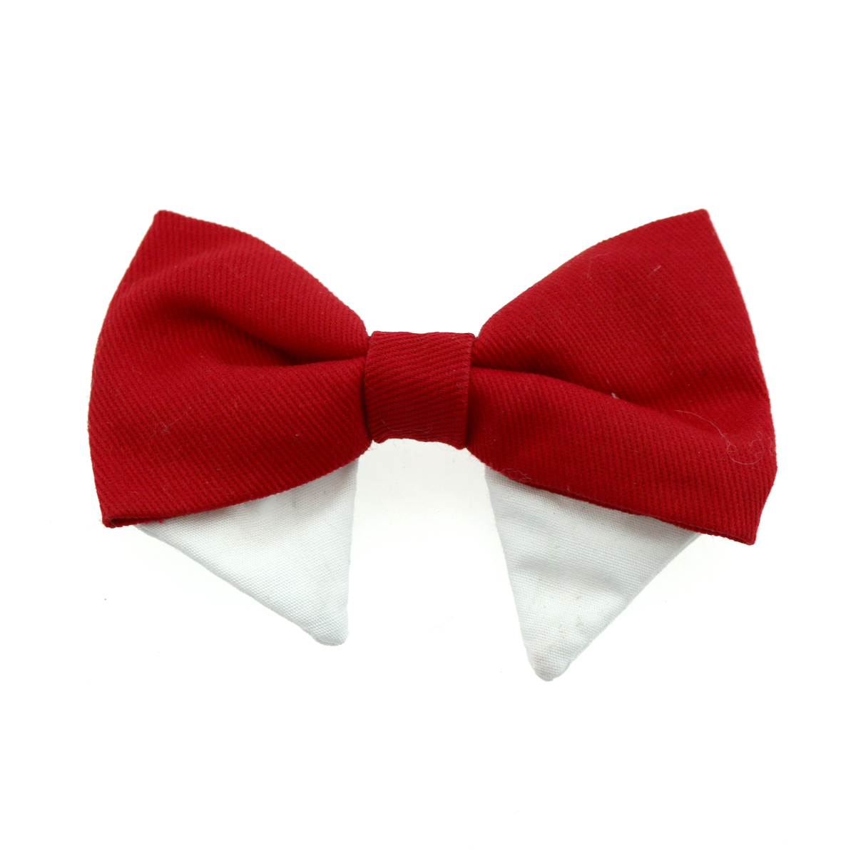 Doggie Design Universal Dog Bow Tie, Solid Red, Type 1