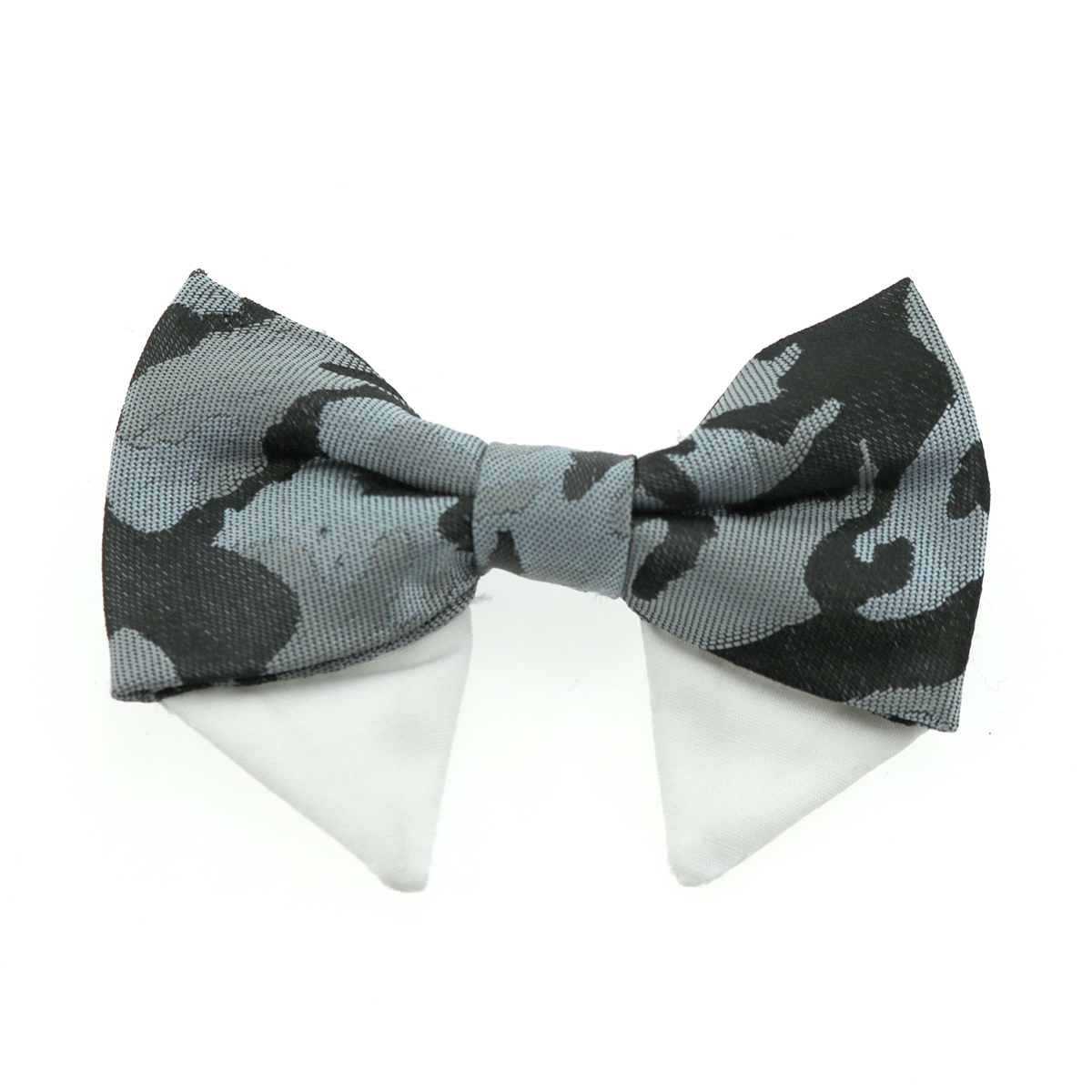 Doggie Design Universal Dog Bow Tie, Gray Camo, Type 2