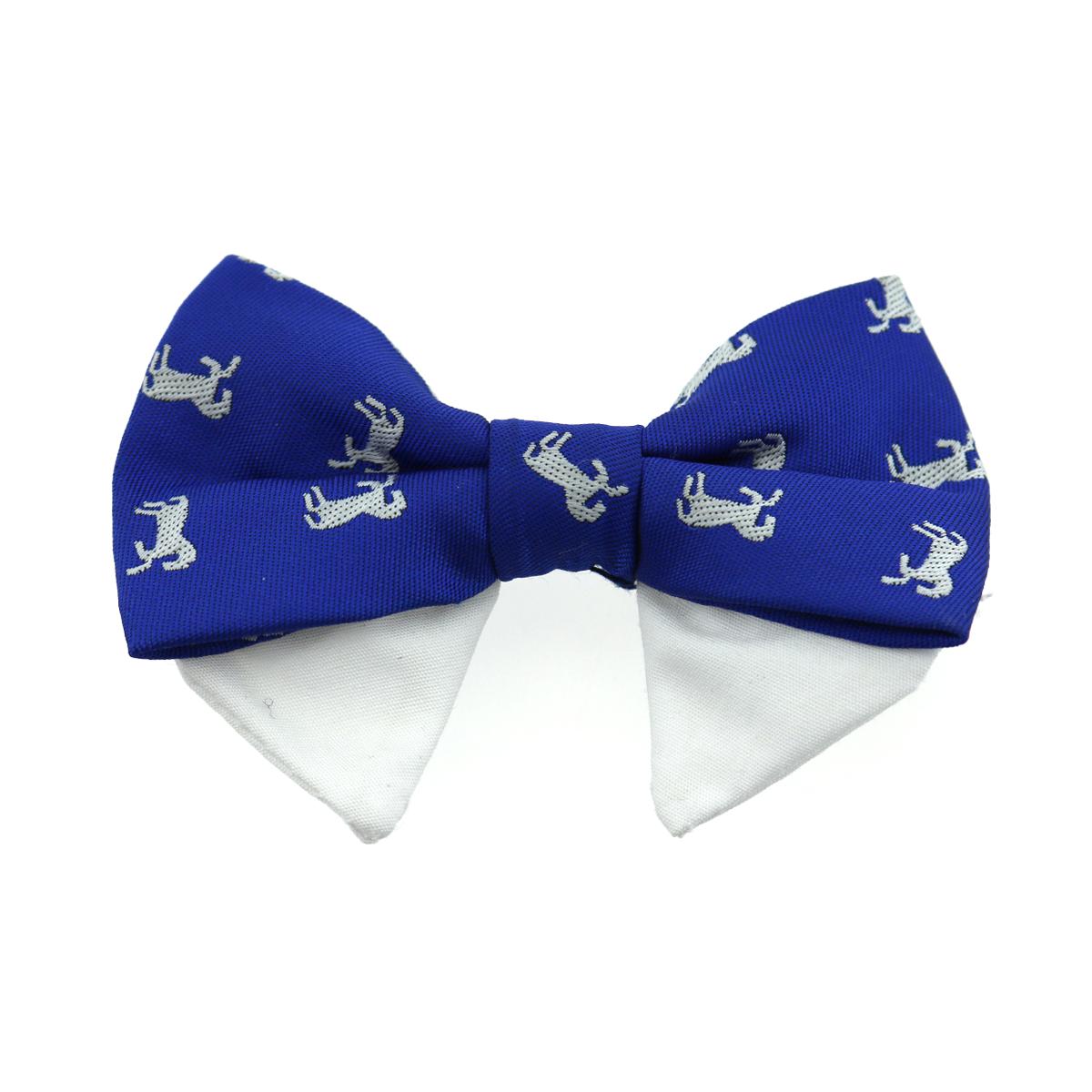 Doggie Design Universal Dog Bow Tie, Navy Blue, Type 1