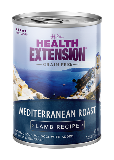 Health Extension Mediterranean Roast Lamb Recipe Wet Dog Food