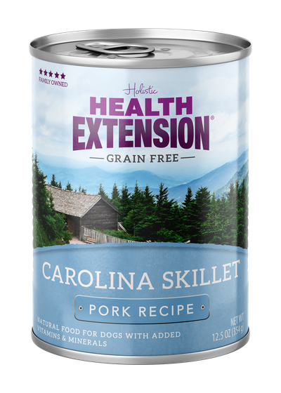 Health Extension Carolina Skillet Pork Recipe Wet Dog Food