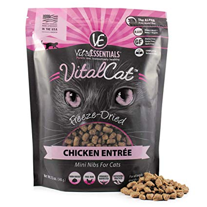 Vital Essential Vital Cat Chicken Entrée Freeze-Dried Cat Food, 8-oz