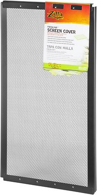 Zilla Fresh Air Screen Cover for Terrariums, 20-in x 10-in, 20-in x 10-in