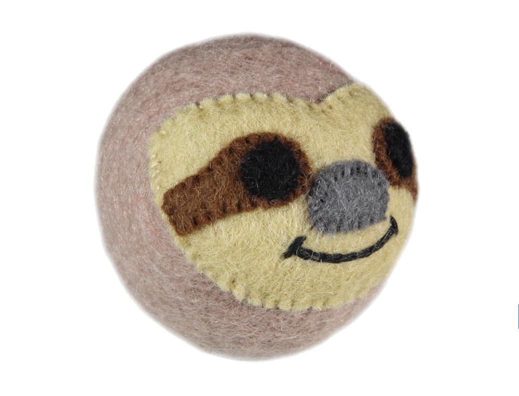 RC Pet Products Wooly Wonkz Safari Sloth Dog Toy
