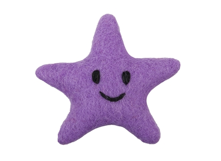 RC Pet Products Wooly Wonkz Under the Sea Starfish Cat Toy